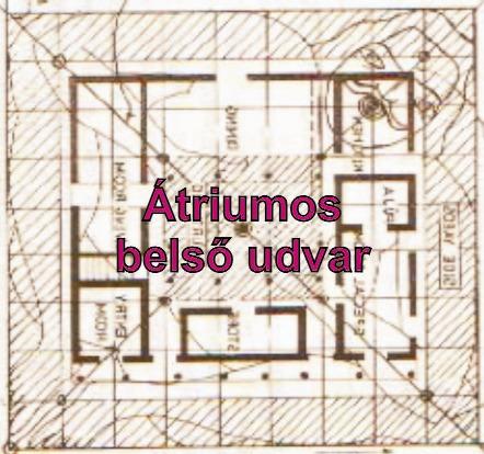 A klasszikus átriumos Vaszati házban a Brahmasztán a szó szoros értelmében nyitott az ég felé