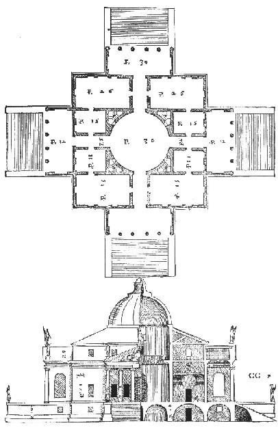 Palladio európai építész volt, csodaszép villáinak tervezésekor mégis odafigyelt arra, hogy minden égtájon legyenek ablakok