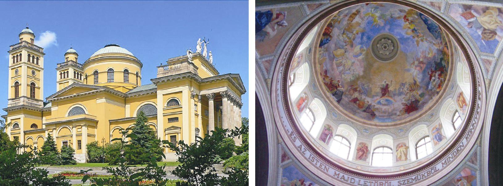 A felülről érkező kozmikus energiákat remekül lehet érezni a kupolával rendelkező székesegyházakban, például az egri bazilikában is.