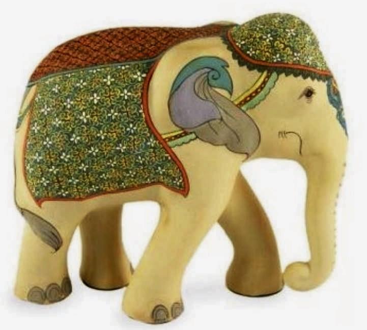 Egy ilyen gyönyörű elefánt csak jó hatással lehet ránk
