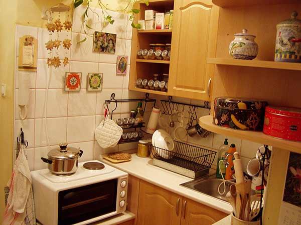 Annyira pici volt a lakás és a konyha, hogy még igazi tűzhelyem sem volt. De azért minden nap főztem!