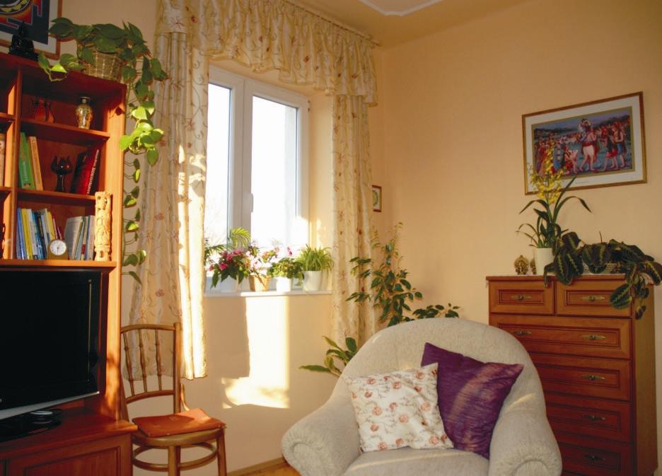 Második lakásomnál - amit már a férjemmel együtt vettünk - nem bíztunk semmit a véletlenre. Vágattunk egy ablakot északra...