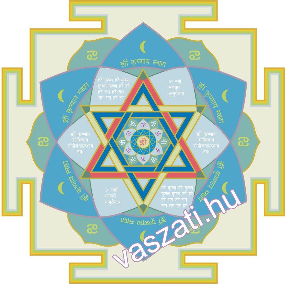 A Vasudeva yantra segít, ha gond van a Holdablakkal