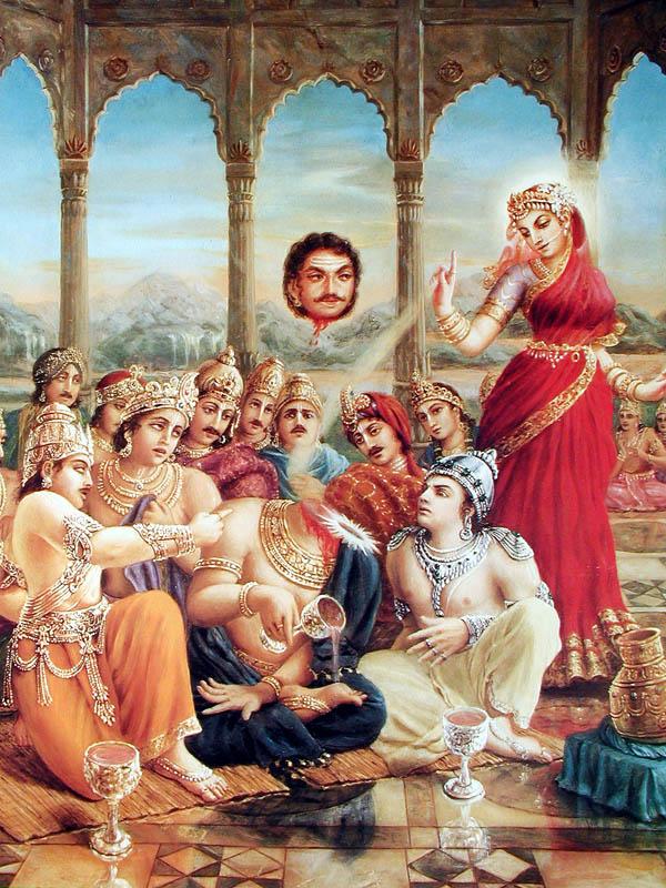 Mohini Murti lecsapja Rahu fejét...