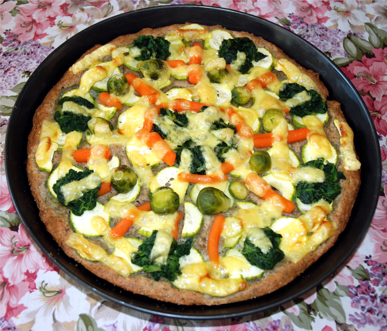 Azt, hogy ezentúl nem eszem pizzát, teljesen fölösleges megfogadni. Azt azonban igen, hogy jó sok egészséges zöldség lesz rajta.