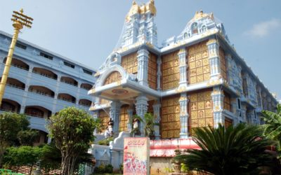 "Egy igazi ""mesetemplom"" Tirupatiban"