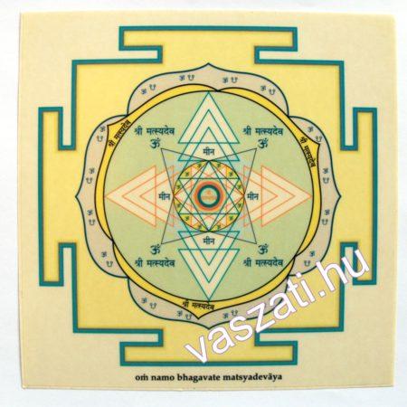 Matsya yantra matrica