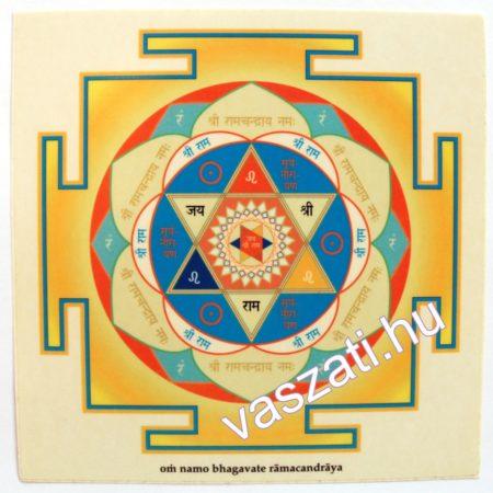Ramacandra yantra matrica