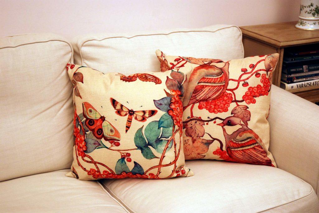 A piros madaras párna társaságában délkeleten és délen van a legjobb helye.