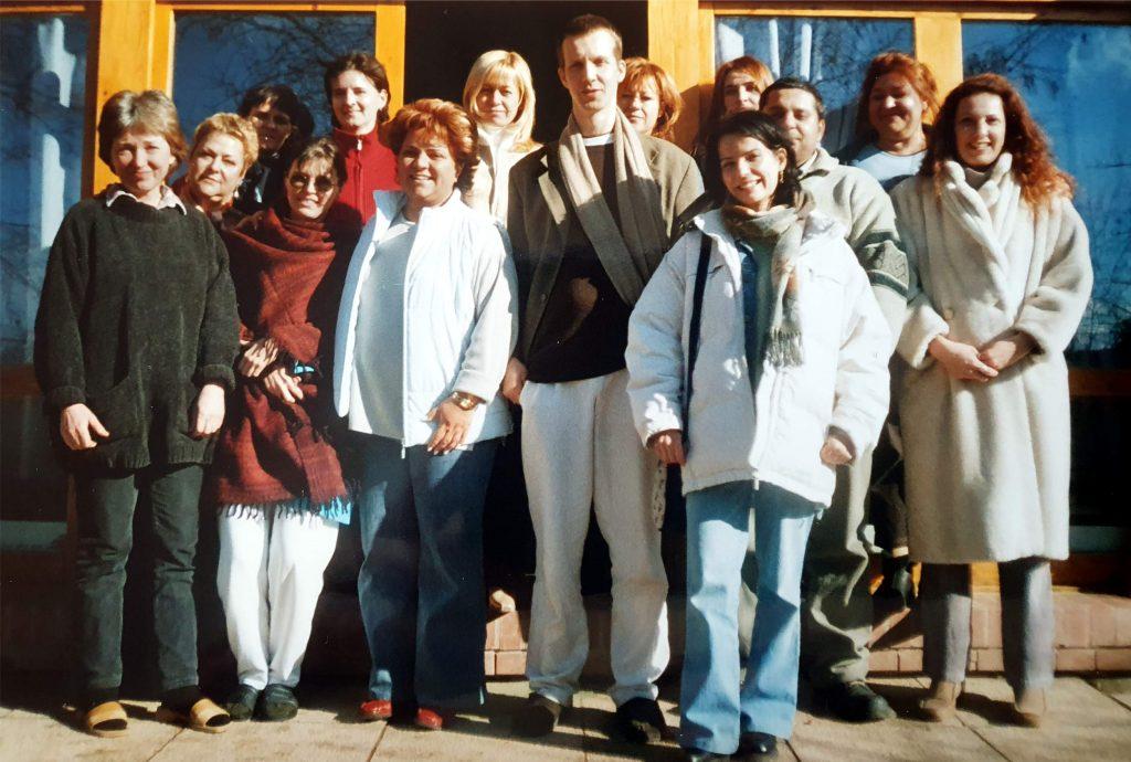 A 2004-es haladó tanfolyam résztvevői, középen Marcus Schmieke